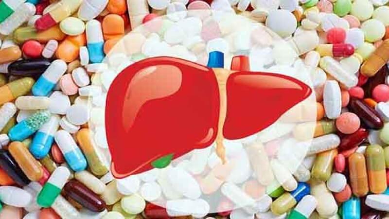 Sử dụng thuốc tây kéo dài gây hại cho gan