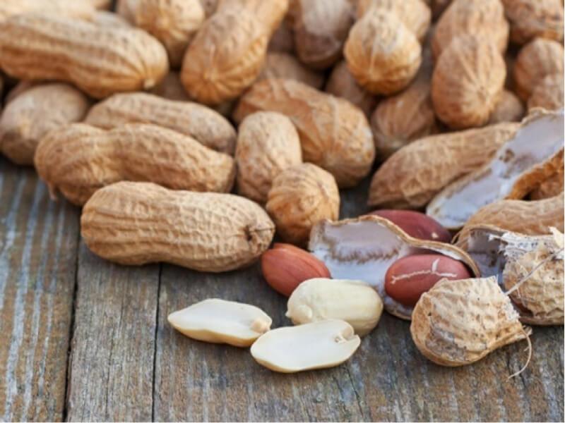 Đậu phộng là thực phẩm bảo vệ sức khỏe rất tốt nhờ chứa hàm lượng lớn các sterol thực vật