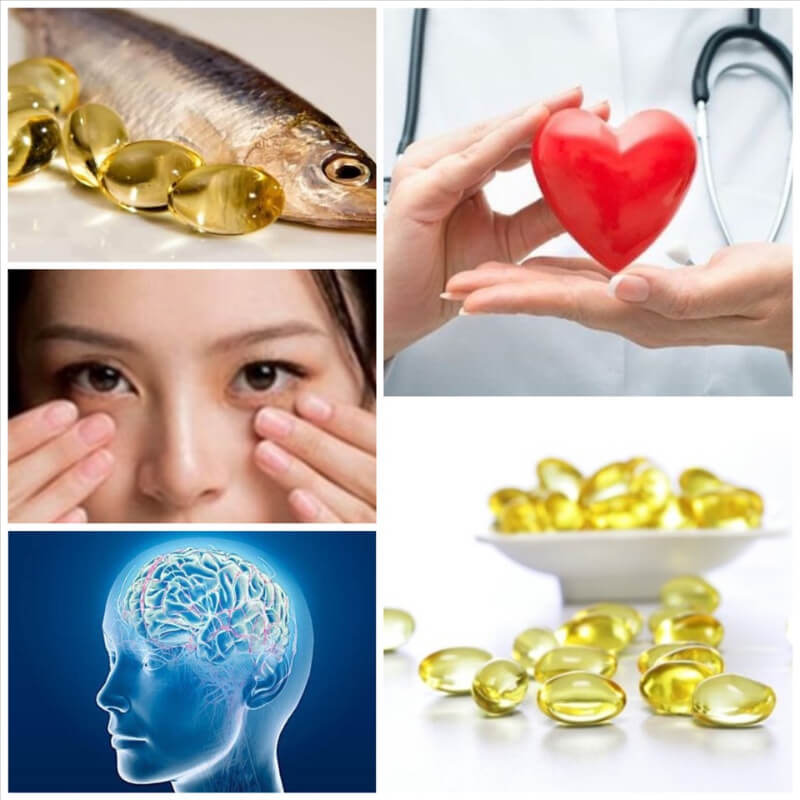Omega 3 phát triển não bộ và cải thiện thị lực