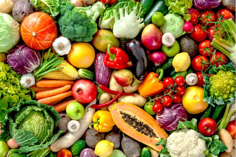 Rau củ quả làm tăng lượng cholesterol tốt